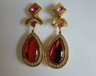 Jean Louis Scherrer huge Earrings