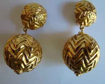 YSL  Yves Saint Laurent  Earrings