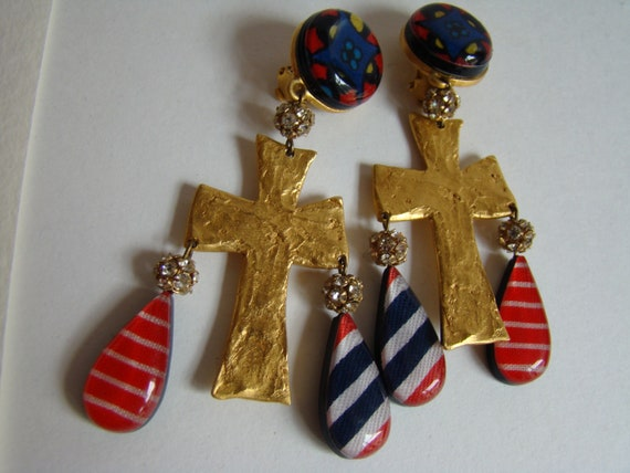 Christian Lacroix earrings - image 1