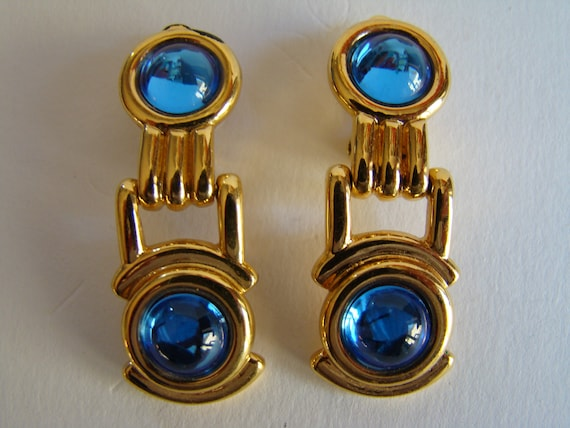 Ted Lapidus  articulated earrings