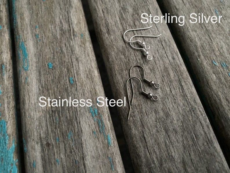 Antique Silver Diamond-Shaped Earrings