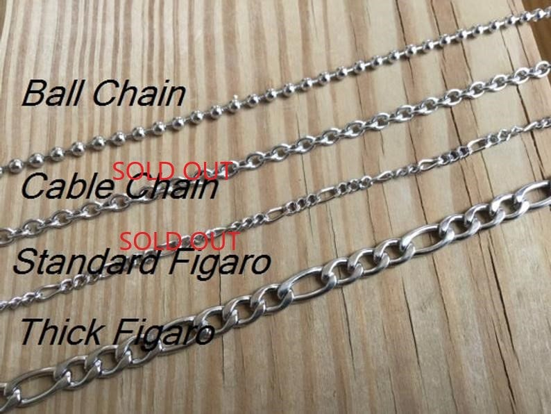 Men/'s Necklace with Feather Charm on Chain of your choice Men/'s Feather Necklace