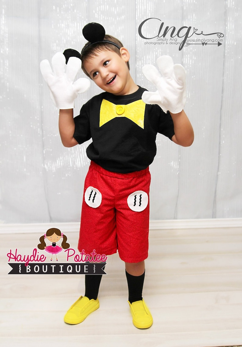 a5b8df8fd7be7 Tenue de garçons Costume Mickey Mouse-mickey mouse mickey