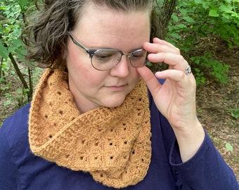 Crochet Pattern, PDF file, Crochet Cowl