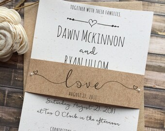 Wedding invitations etsy search results more colors rustic wedding invitation filmwisefo