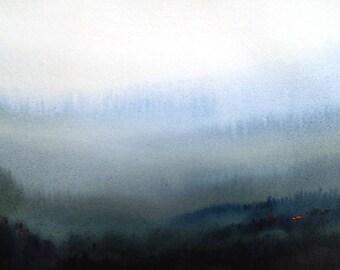 Misty Himalaya