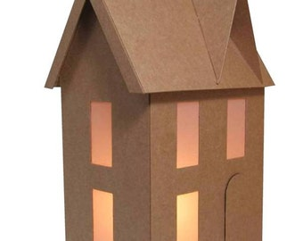 DIY Kit-Basic Little Chipboard Gingerbread House