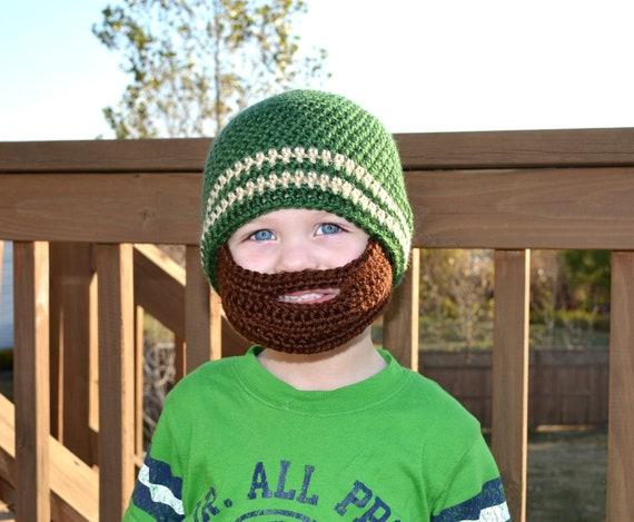 Häkeln Sie Baby Boy Mütze Mit Bart Hut 3 Monate Bis 10 Jahre Etsy