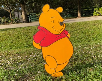 prop Winnie the Pooh Decor Winnie the Pooh Character Standup or Room Decoration standee Winnie the Pooh Party Decoration