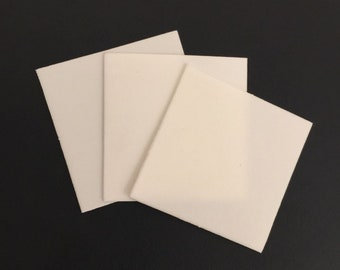 Polishing Pads, PRO POLISHING Pads to keep copper, brass, silver shine,  2x2 inch pad, 3 pc pack