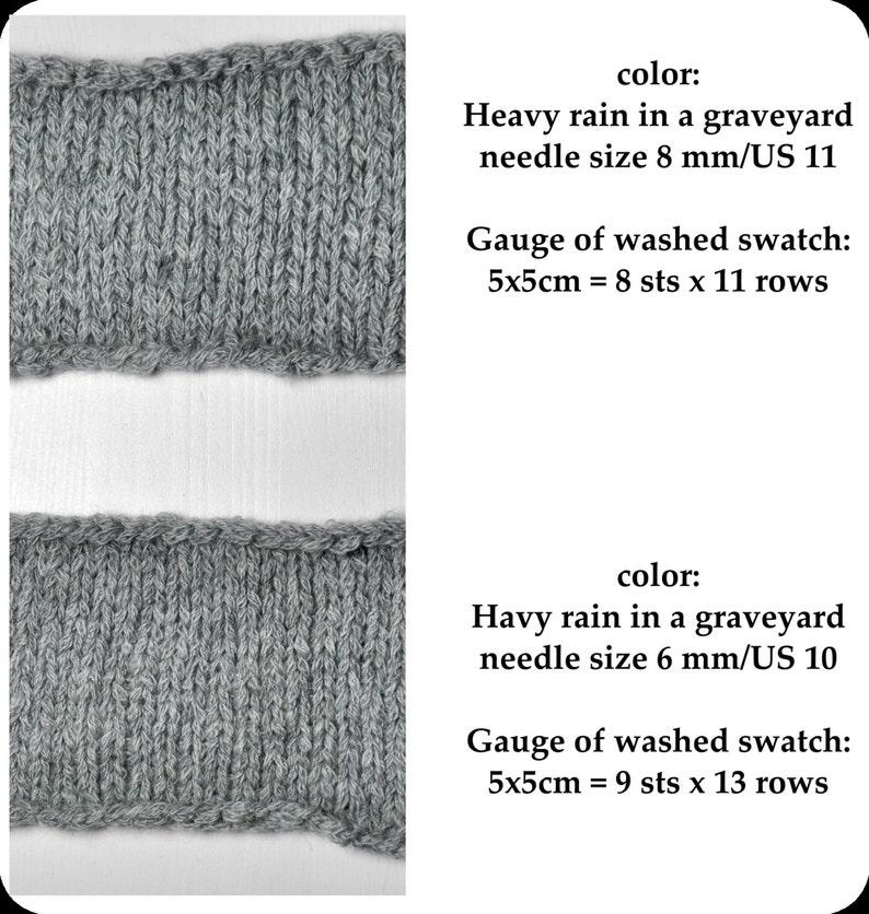 Stormy green sea Wolle handgef\u00e4rbt Merino  Alpaca  Yak DK Yarn DyeForYarn Hand Dyed Yarn