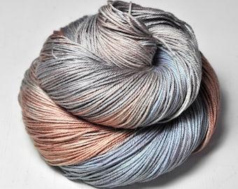 Undynamic Easter egg OOAK - Merino/Silk Fingering Yarn Superwash - Hand Dyed Yarn
