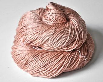 Naughty piglet - Merino / Silk Fingering Yarn Superwash - Hand Dyed Yarn - handgefärbte Wolle - DyeForYarn