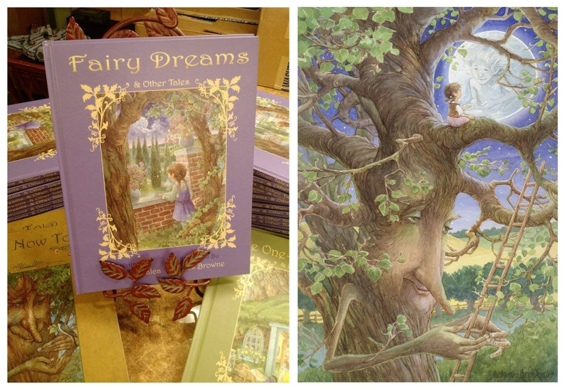 Fairy Dreams & Other Tales 2nd Edition Signed Children's image 0
