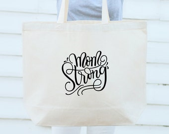 Big Tote bag - Mom Strong