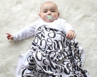 Swaddle - Jeremiah 1:5 - Baby Swaddle - I knew you before I formed you in your mother's womb - Baby shower