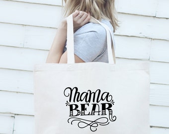Big Tote bag - Mama bear