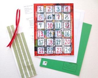 Advent Calendar Kit Etsy