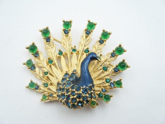 Boucher Peacock Brooch