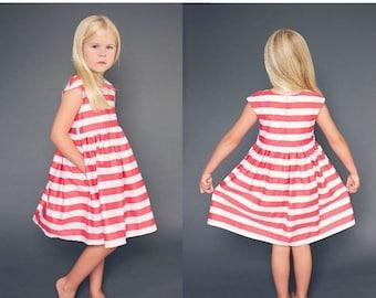 The Caroline Party Dress Pattern PDF