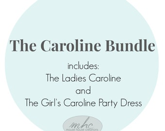 The Caroline Bundle:  Mommy and Me Dresses