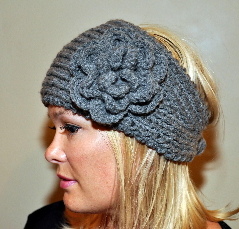 Ohr wärmer Stirnband Kopftuch Stricken Häkeln Wolle Winter