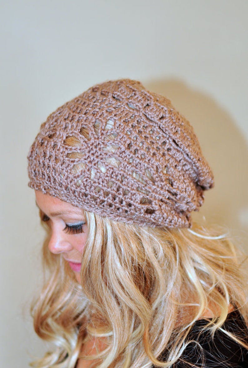 d2e5a977219 Slouchy Beanie Sun Hat Women Spring Hat Slouchy Hat Spring Hat
