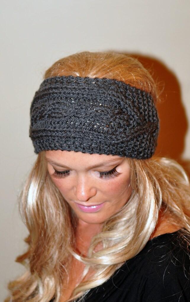 Ohr wärmer häkeln Stirnband stricken Kopf wickeln geflochtenes | Etsy