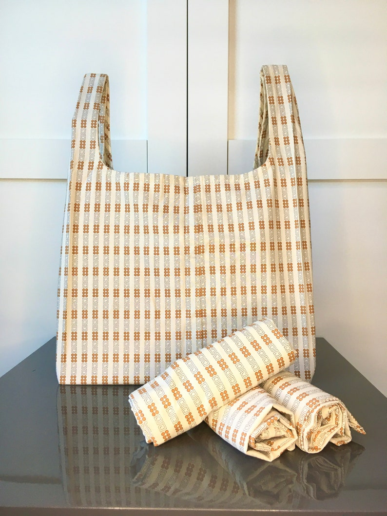 Circle /& Swirls Reusable Grocery Bag