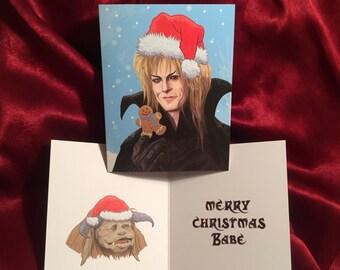 JARETH Labyrinth CHRISTMAS CARD!