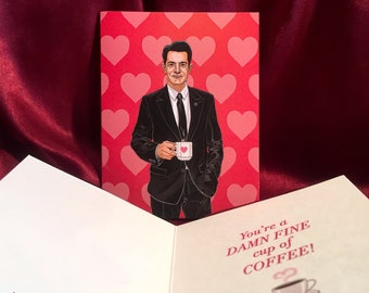 TWIN PEAKS Valentine's Day Card with FBI Special Agent Dale Cooper!