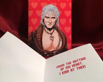 STAR TREK Khan Valentine's Day CARD!