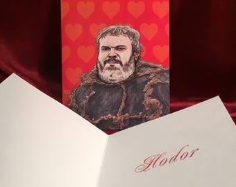 HODOR Valentine's Day CARD!