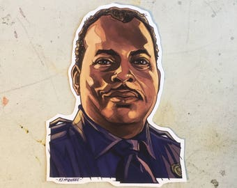 Sgt Al Powell DIE HARD Sticker!