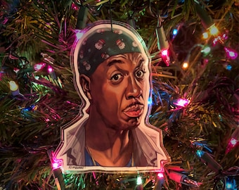 LEON Curb Your Enthusiasm Christmas ORNAMENT!