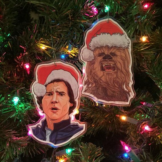 image 0 - Chewbacca Christmas Ornament