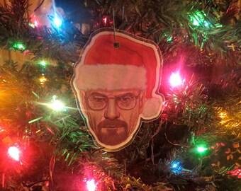 Breaking Bad Walter White Heisenberg Christmas Ornament
