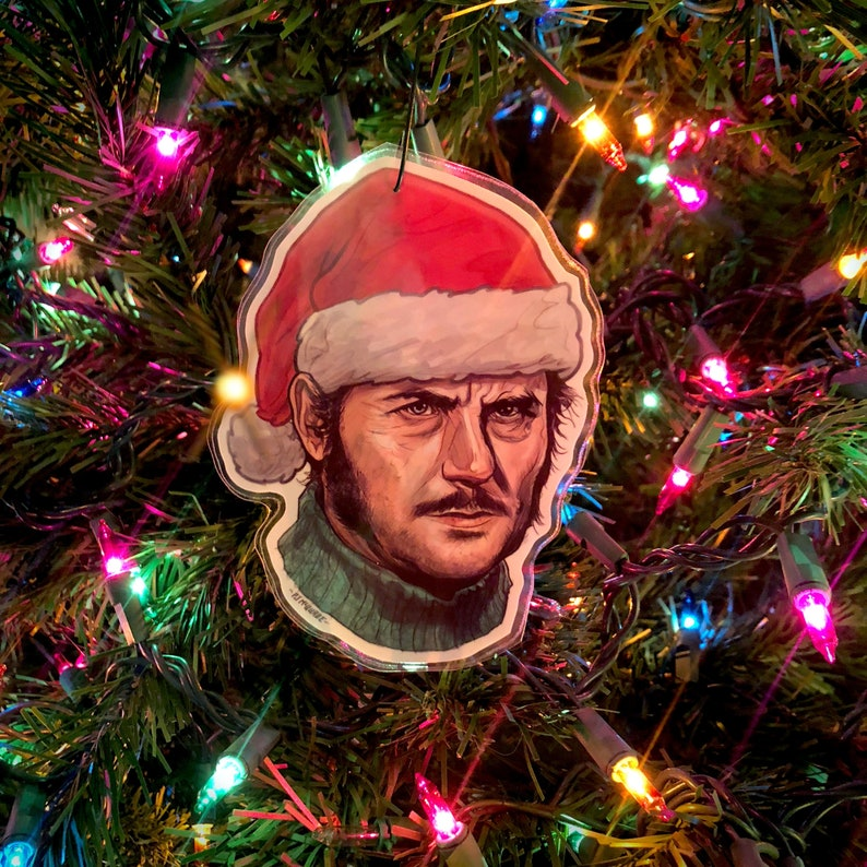 QUINT Jaws CHRISTMAS ORNAMENT image 0
