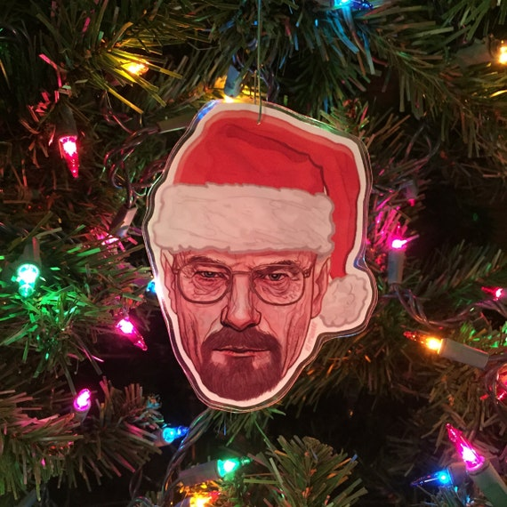 WALTER WHITE Breaking Bad Christmas ORNAMENT | Etsy