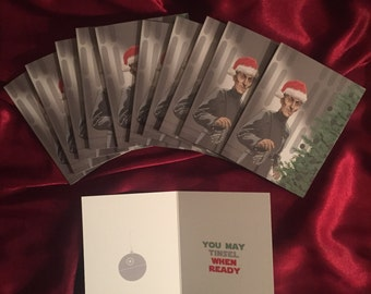 Star Wars Grand Moff Tarkin Christmas Card 10 PACK