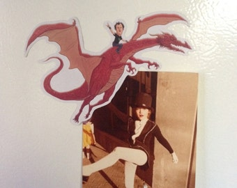 Step Brothers Dale Dragon Refrigerator Magnet