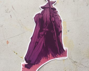 Gandalf STICKER Lord of the RINGS