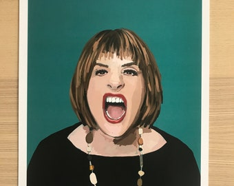 Patti LuPone Original Illustration Print