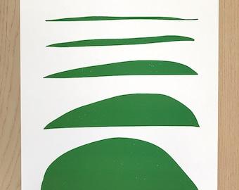 Abstract Original Pop Art Print