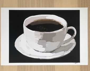 Coffee Cup n' Saucer Art