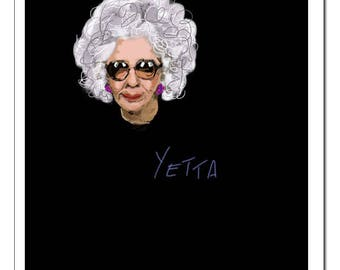 Yetta from The Nanny-Pop Art Print