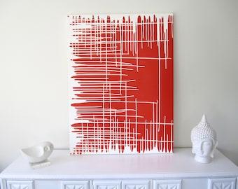 Original Paint Drip Art-Abstract Wall Painting