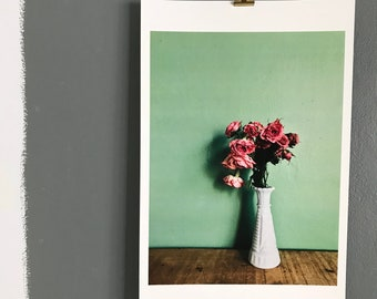 Original Flower Photo Print