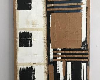 Original Art-Abstract Wall Painting/Paper