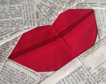 LIPS paper piecing PDF pattern